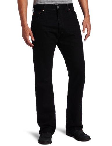 Levi's Men's 517 Boot Cut Jean, Black, 40x30 All American Jeans