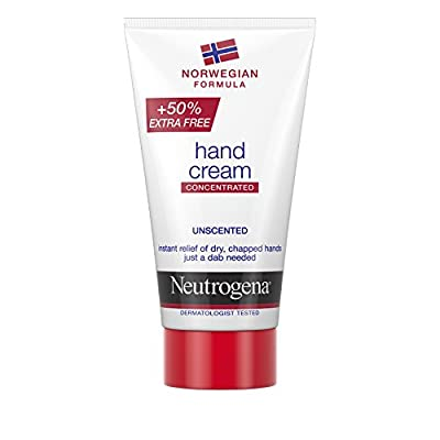 Neutrogena Concentrated Unscented Norwegian Formula Hand Cream 75 ml