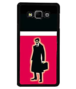 printtech Suit man Back Case Cover for Samsung Galaxy A7::Samsung Galaxy A7 A700F