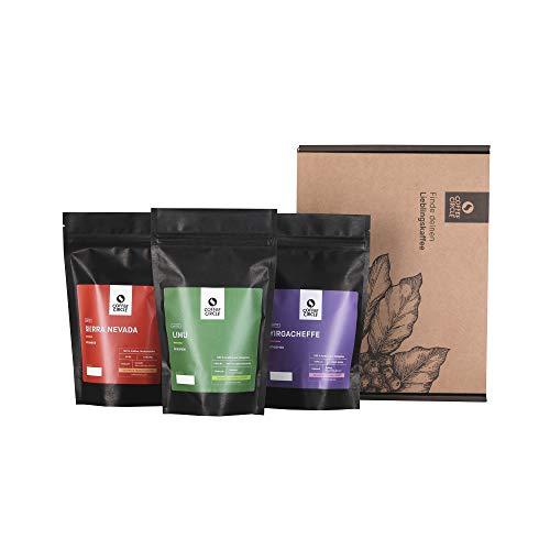 Coffee Circle | Premium Kaffee Probierpaket | 3x100g ganze Bohne | Filterkaffee aus Äthiopien &...