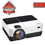 GEARGO Projecteur Full HD 2800 Lumens 1080P Compatible avec Amazon Fire TV Stick Laptop SD/Xbox
