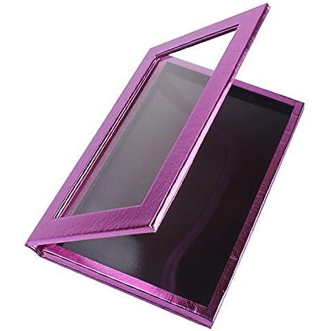 Vacío magnético Paleta de maquillaje cosméticos de viaje de tamaño grande Organizar Bolsa Color Morado Freestyle Paleta de Sombra de