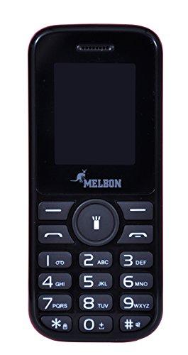 Melbon Dude 33 Moblie Phone (Dual Sim, Black)