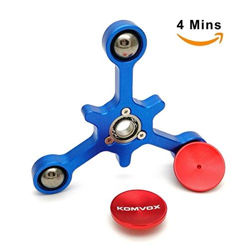 Fidget-Spinner-Juguete-de-dedo-Aleacin-de-aluminio-Mejor-reductor-de-estrs-Spinning-Top-para-el-TDAH-Ansiedad-Matar-el-tiempo-by-KOMVOX