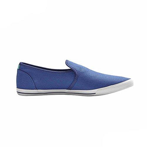 Jack and Jones Schuhe Spider Canvas Loafer azurblau