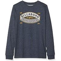 Billabong Guardiant Tee LS Boy, T-Shirt Bambino, Blu (Navy 21) Anni (Taglia Produttore: 16)