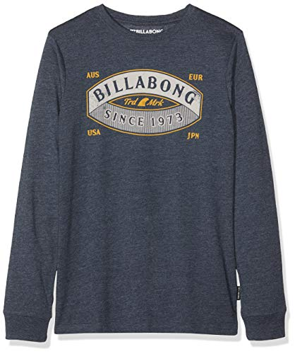 G.S.M. Europe - Billabong Jungen GUARDIANT Tee LS Boy Langarm-t-Shirt, Navy, 16 -
