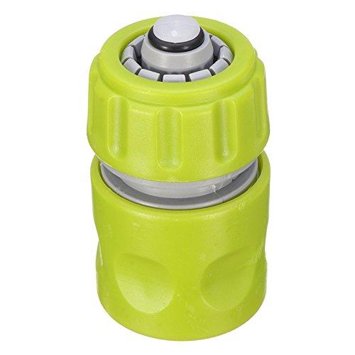 Abs-kunststoff-schlauch (TuToy Abs Kunststoff Wasser Hahn Schlauch Rohr Anschluss Quick Hose Coupler Mit Wasser Stop Grün)