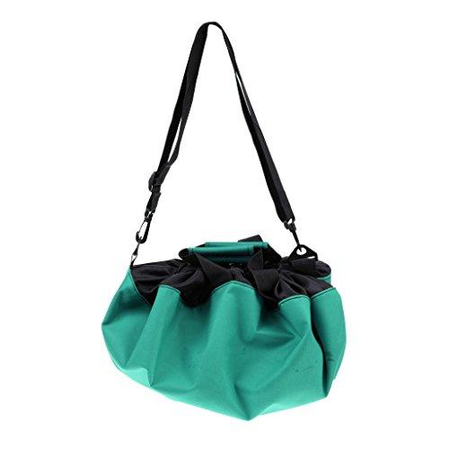 Gazechimp Schwerlast Umkleidehilfe Beutel, wasserdichte Tasche, ideal für Wassersport, Schwimmen, Tauchen, Strand Aktivitäten - Grün