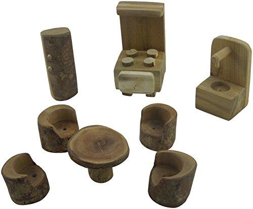 Lichee Toys 105011-Cocina Muebles en Bolsa de algodón para niños pequeños