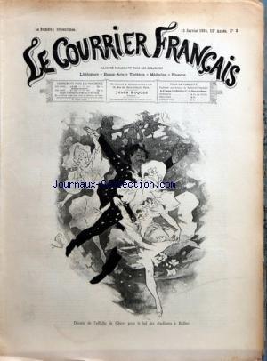 COURRIER FRANcAIS (LE) [No 2] du 13/01/1895