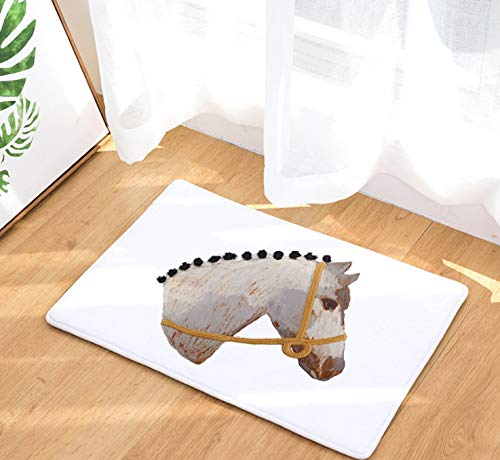ck Kissen Tür Pad Digitaldruck Pad Bad Küche Bad Lange Wasser Saug Rutschfeste Pad Teppich ()