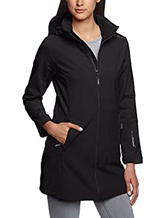 CMP Damen Softshell Mantel, Nero, 34, 3A08326