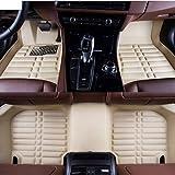 AoforzBrand Tapis de Voiture sur Mesure pour Volkswagen VW Passat b5 6 Polo Golf...