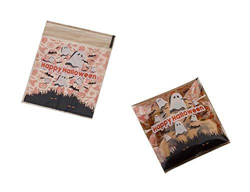 Black Temptation Pack von 100 schönen Süßigkeiten Papers Halloween Cookie Taschen, M5
