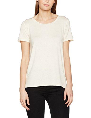 Vila Damen T-Shirt Visobo S/S Top Beige (Sandshell)