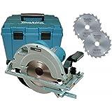 Makita 5903RKX1 Scie circulaire 235 mm avec 2 lames supplémentaires/coffret 2000 W