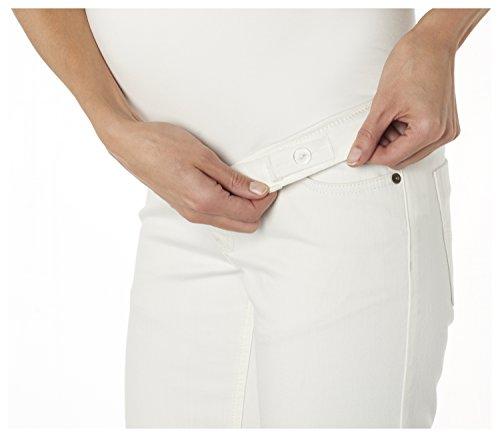 ESPRIT Maternity Damen Umstands Shorts Bermuda OTB slim Elfenbein (Offwhite 103)