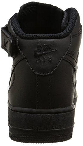Nike Herren Air Force 1 Mid '07 High-Top Schwarz