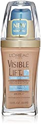LOreal Visible Lift Serum Absolute Advanced Age-Reversing Makeup, Honey Beige 1 oz