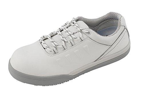 Sanita San-Chef Lace Shoe-s2, Chaussures de Sécurité Mixte Adulte Blanc - Blanc