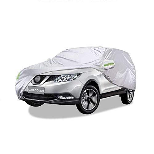 Yuany Autoabdeckung Geeignet für Nissan Qashqai UV-Schutz im Freien Regen und Schnee Staubdicht Allwetter Vier Jahreszeiten Allgemein Winddicht