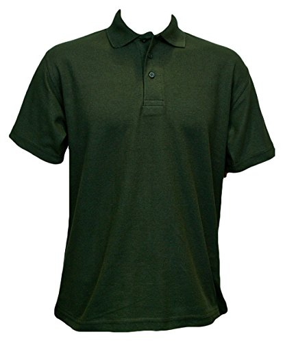 Uneek Olympic Polo-Shirt UC124, Arbeitskleidung Grün - Bottle Green