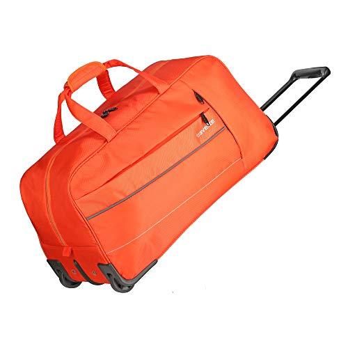 """Travelite Extrem leicht: \""""KITE\"""" - sportlich-klassische Trolleys, Trolley-Reisetaschen und Bordtaschen Reisetasche, 64 cm, 68L, Orange"""
