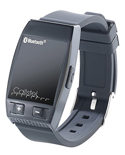 Callstel Armband Telefon: Freisprech-Armband mit Bluetooth, Lautsprecher, schwarz (Freisprecharmband)