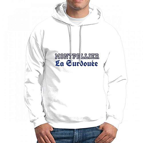 Custom Montpellier La Surdouee Men's Pullover Logo Hoodie Custom Sweater