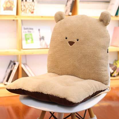 Office Chair Cushion Floor Thickening Student Seat Piece Cushion Cushion One Classroom Bench Stool Ass Mat - Ass Latex