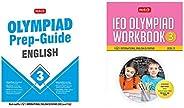 Olympiad Prep-Guide English Class - 3&International English Olympiad Workbook - Class 3 (2020-21)(Set of 2