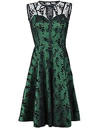 Voodoo Vixen Emerald Kleid grün