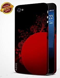alDivo Premium Quality Printed Mobile Back Cover For Apple iPhone 4 / Apple iPhone 4 Back Case Cover (RK-AD-002)