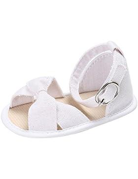 BBestseller Zapatos Bebé,Bebe Sandalias Niño Niños Niña Zapatos de Suela Suave Cuna Niño Recien Nacido Kawai Suela...