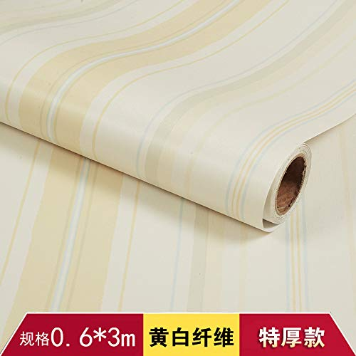 lsaiyy Moderne unbedeutende Selbstklebende Tapetenwohnzimmer-Schlafzimmerdekorationshintergrund-Wandtapete 60CMX3M