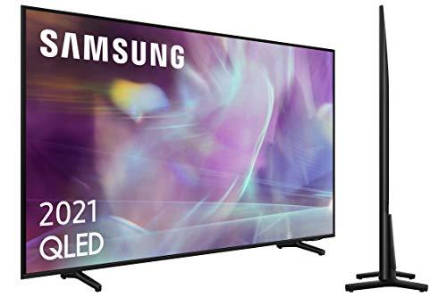 """Oferta de Samsung QLED 4K 2021 43Q60A - Smart TV de 43"""" con Resolución 4K UHD, Procesador 4K, Quantum HDR10+, Motion Xcelerator, OTS Lite y Alexa Integrada"""