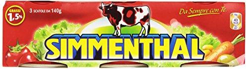 Sienthal Piatto Pronto di Carni Bovine Gelatina Vegetale 4 confezioni da 3 pezzi da 140 g