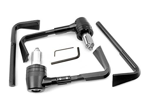 """ConPush Universal Motorrad Bremshebel Kupplungshebelschützer 7/8\"""" 22mm Handschutz für Motorradlenker Sturzschutz"""