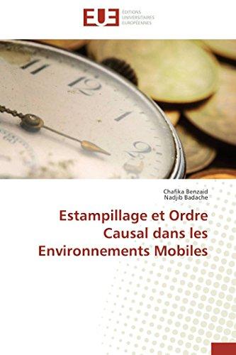 Estampillage et ordre causal dans les environnements mobiles par Chafika Benzaid