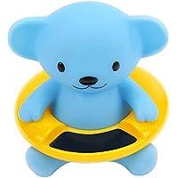 Newin Star Termómetro de Agua,Termómetro para baño con diseño de Animal Lindo Termómetro baño para bebé (Oso)