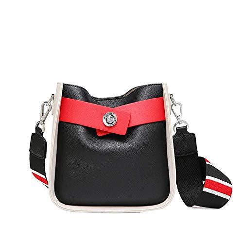 La borsa delle donne, borsa di spalla di spalla di colore del sacchetto di cuoio della borsa della borsa della madre del cuoio genuino di modo della borsa di corrispondenza (formato: 21 * 11.5 * 21CM)