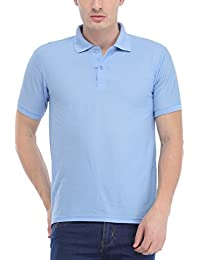 Trendy Trotters SkyBlue Polo Cotton T-Shirt