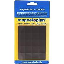 Magnetoplan 15502 - Laminitas magnéticas autoadhesivas)(60 unidades)