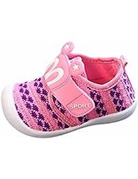 836d6b203cbe7 Bonjouree Chaussures Souples Bebe Garçon Fille Squeaky Sneaker Chaussures  Premiers Pas d été