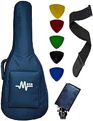 Mexa Acoustic Guitar Bag Foam Padded For 38; 39; 40; 41; Inches Guitar Like-Fender; Yamaha; Cort; Ibanez; Xtag