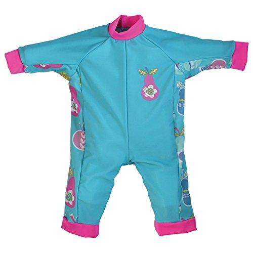Splash About Baby Einteiliger UV-Schutzanzug, blau (Tutti Frutti), 3-6 Monate, UVATF3 (Baby Tutti Frutti Kostüm)