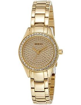 Guess Damen-Armbanduhr XS Analog Quarz Edelstahl W0230L2