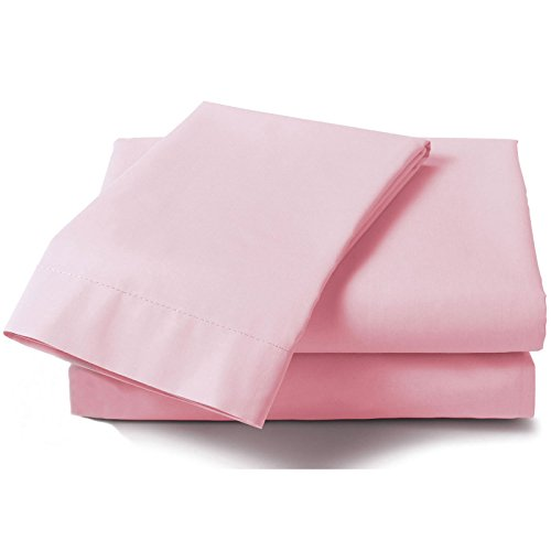 just-contempo-plain-percale-fitted-sheet-single-pink