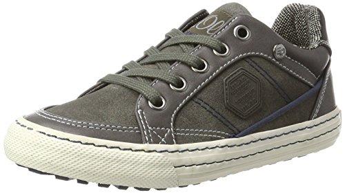 s.Oliver Jungen 43100 Sneaker, Grau (Grey), 35 EU